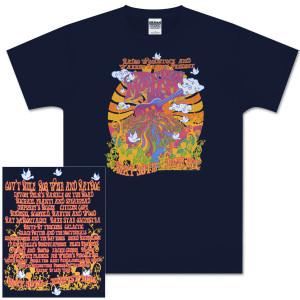 2008 Mountain Jam Guitar Logo Navy T-Shirt