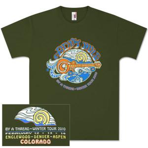 Gov't Mule 2010 Colorado Winter Tour T-Shirt