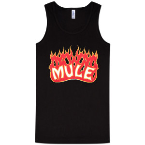 Gov't Mule Flaming Mule Logo Ladies Tank Top
