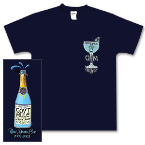 Gov't Mule 2002 New Year's Run T-Shirt