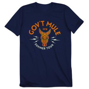 2018 Summer Tour Blue T-shirt