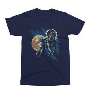 Mule Year's Eve Run 2018-2019 Space Logo T-Shirt