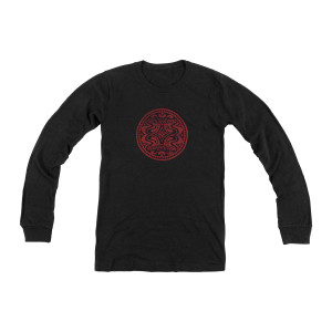 Heather Black Quattro Dose Long-Sleeve T-Shirt