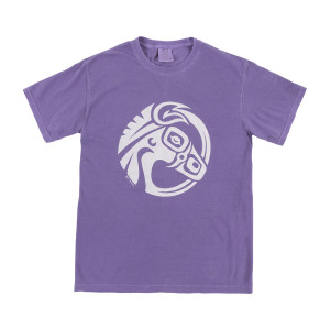 Mulehead Grape Pigment Dye T-Shirt