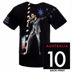 George Michael 2010 Australia Tour T-Shirt