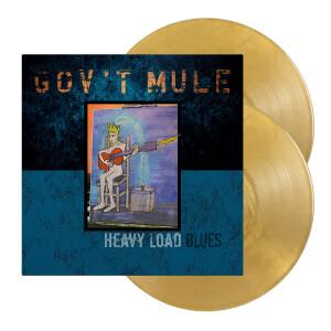 Gov't Mule Heavy Load Blues Standard Gold Vinyl