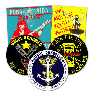 Pura Vida Conspiracy Sticker Pack