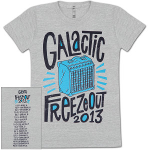 Freeze Out 2013 Ladies Tour T-Shirt