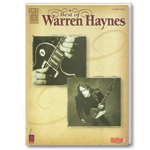 Best of Warren Haynes Songbook