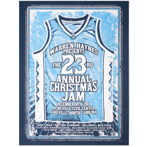 Warren Haynes 2011 Xmas Jam Poster