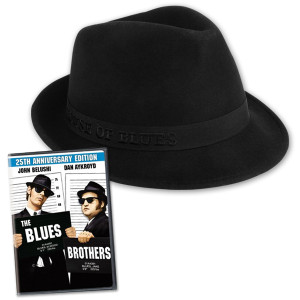 House of Blues Fedora and DVD Bundle