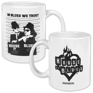 Jake and Elwood Mug Shot Coffee Mug - Anaheim