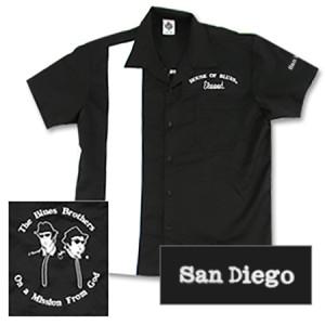 House of Blues Elwood Bowling Shirt - San Diego