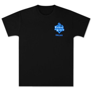 House of Blues Star Guitar T-Shirt - Dallas