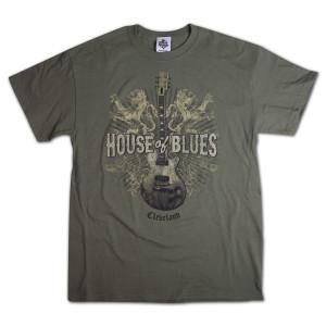 Lions Guitar T-Shirt