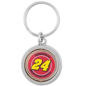 Hendrick MotorSports #24 Rotating Key Chain-spinner
