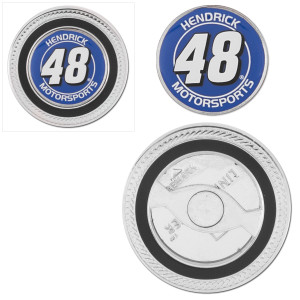 Hendrick MotorSports #48 Challenge Coin