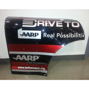 Jeff Gordon #24 AARP/Drive to End Hunger Rear Qtr Panel Texas 11/2/14