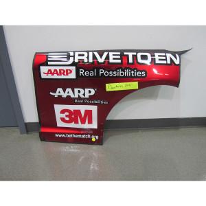 Jeff Gordon 24 2015 Aarp Drive To End Hunger Chevrolet Qtr Panel Daytona 500 Jeff S Last