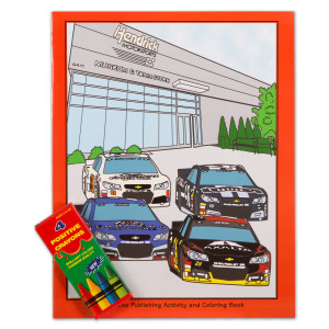 HMS - Activity Coloring Book