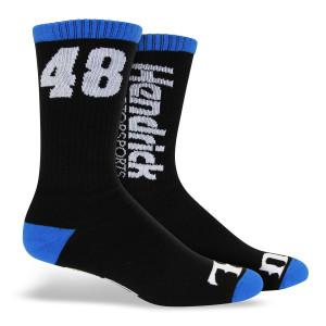 """Hendrick Motorsports Exclusive - #48 """"Wide Open"""" Socks"""