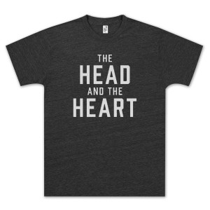 The Head and The Heart Logo Black T-Shirt