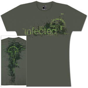 Women's Infected Mushroom Tee - Green