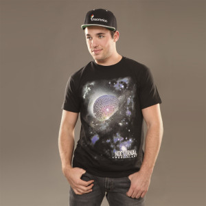 Nocturnal Wonderland Disco Planet Tee