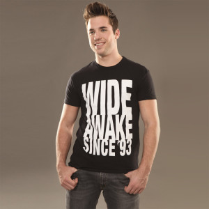 Insomniac Wide Awake Tee Black