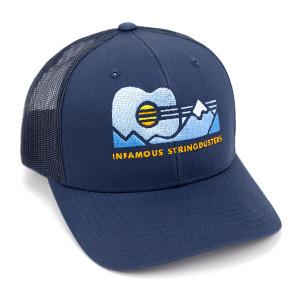 Guitar Mountain Trucker Hat