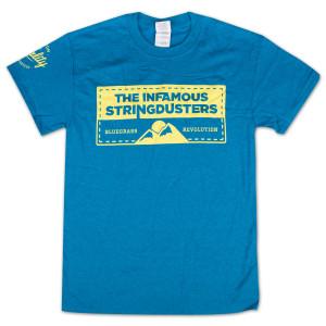 "The Stringdusters - ""Premium Quality Guaranteed"" T-Shirt"