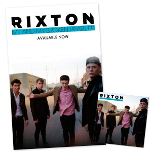 Rixton Me and My Broken Heart EP Bundle