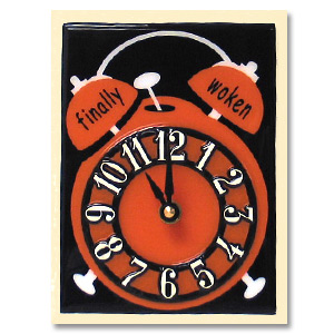 Finally Woken Clock