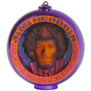 Happy Hendrix Holidays Ornament