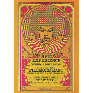 Fillmore East 5/10/1968 (2nd Ed) Postcard