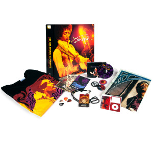 Jimi Hendrix Live 1968 Paris/Ottawa Fan Pack with<br /> T-shirt + CD