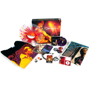Jimi Hendrix Live 1968 Paris/Ottawa Fan Pack with <br />T-shirt+CD+Vinyl