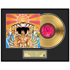 Jimi Hendrix – Axis: Bold As Love Framed Gold Record