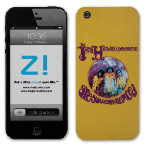 Jimi Hendrix Are You Experienced iPhone 5 Skin