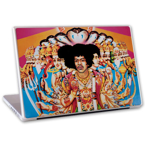 "Jimi Hendrix Axis Bold As Love 13"" Laptop For Mac & PC Skin"