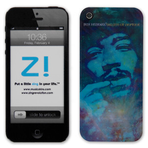 Jimi Hendrix Valleys Of Neptune iPhone 5 Skin