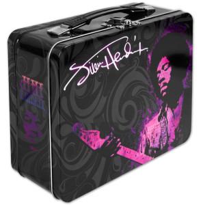 Jimi Hendrix Large Tin Tote