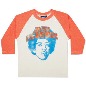 Jimi Hendrix Girls Vintage Style Jersey Top