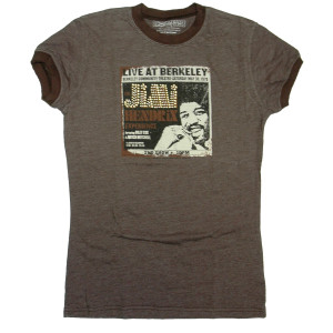 Live At Berkeley Brown Ringer T-Shirt