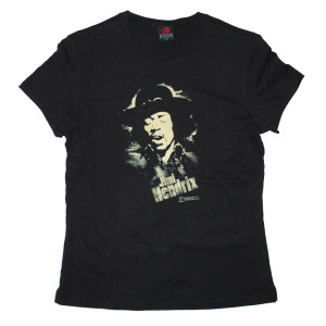 Hendrix Stencil Ladies T-Shirt