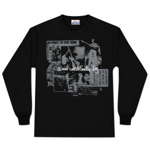 Jimi Hendrix Seattle Boy Long Sleeve T-Shirt (Silver)