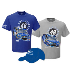 Jimmie Johnson Exclusive Lowe's ProServices Shirt and Hat Bundle