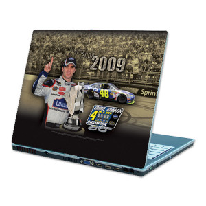 """Jimmie Johnson #48 Sprint Cup Champ """"4 in a Row"""" Laptop Skin"""