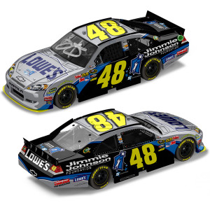 Jimmie Johnson #48 2011 Foundation AUTOGRAPHED 1:24 Diecast