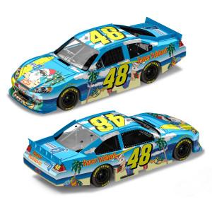 Jimmie Johnson 2011 Sam Bass Holiday 1:24 Scale Diecast